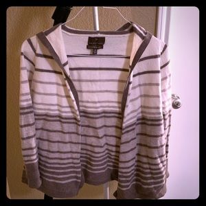 Sweaters - Striped sweater with hood - Fenn Wright Manson